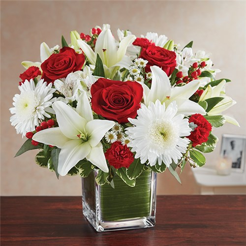 Homepage living with flowers 1 800 flowers healing tears red white mightylinksfo